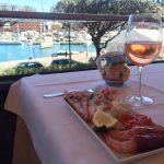 mangiare con vista sul mare